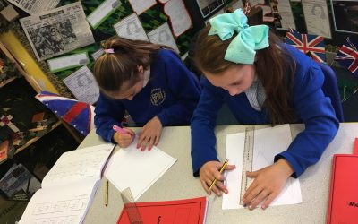 Using scaling-up to create our signs for the Summer Fayre!
