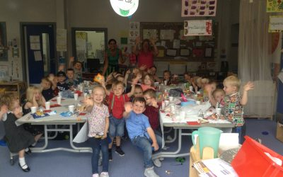 A goodbye party for nursery