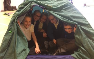 Can you pitch a tent?