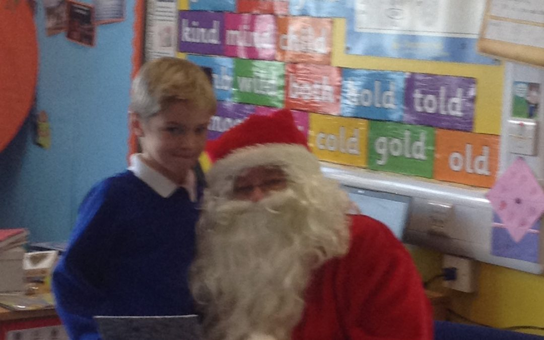 We had a very special visitor!