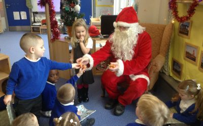 Santa Claus is coming to…nursery