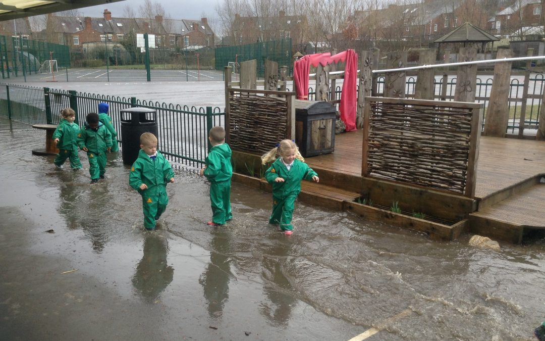 Embracing all weathers in nursery