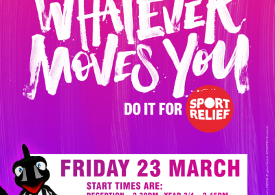 Sports Relief Flyer