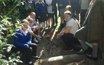 Forest School: Can you build a fire?