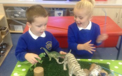 We welcomed back our Nursery children with huge smiles! They are keen to meet their new Nursery friends soon!