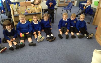 We loved wearing our odd socks for Anti-bullying day. We read the story 'The Highway Rat' and talked about whether he was a nice rat or an unkind rat. We discussed how to be kind to our friends and how it feels when someone is unkind to us.