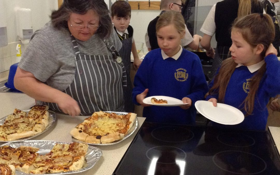 Mmmmmm Year 6 Food Tasting in Kingsmeadow