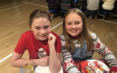 Christmas in Y6: Parties, Party frocks, Party food, Festive quizzes