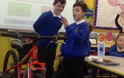 Bike it Ben visited 4C!
