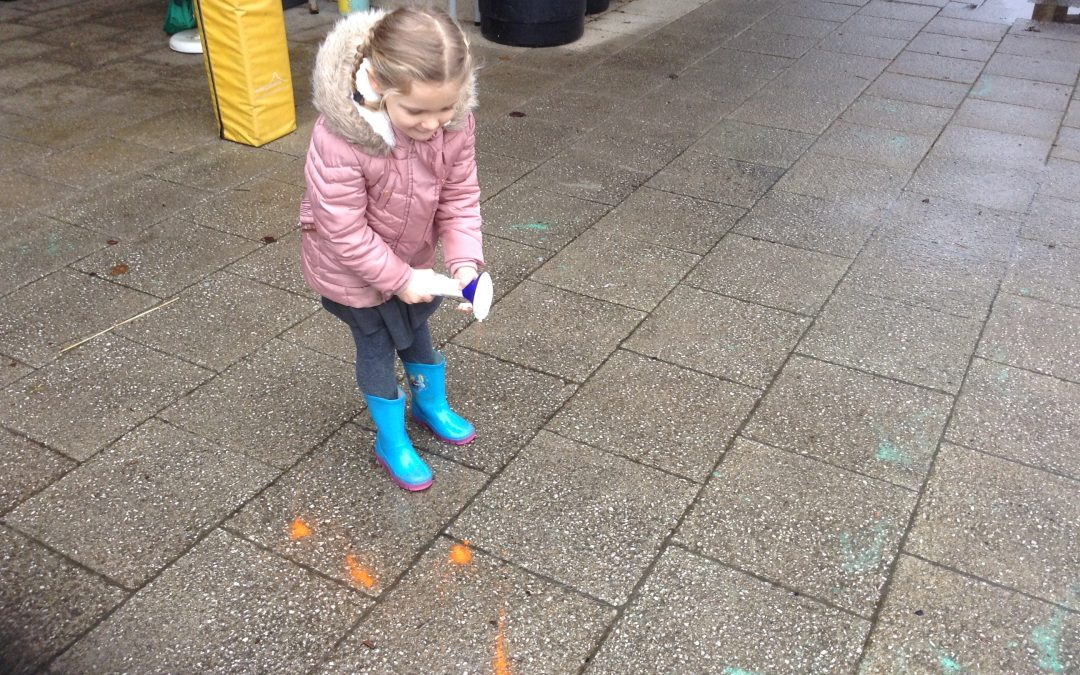 Painting puddles