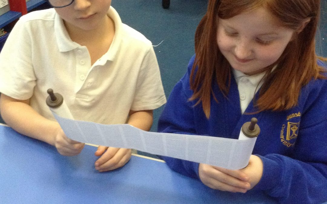 Year 2 learn about Judaism