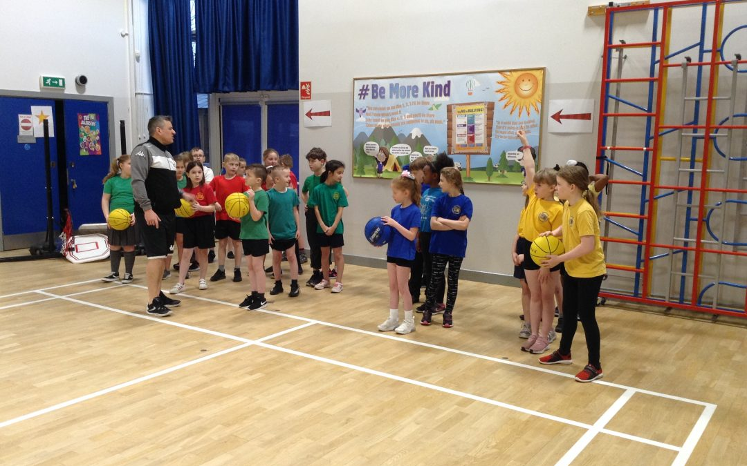 Coaching from Newcastle Eagles!