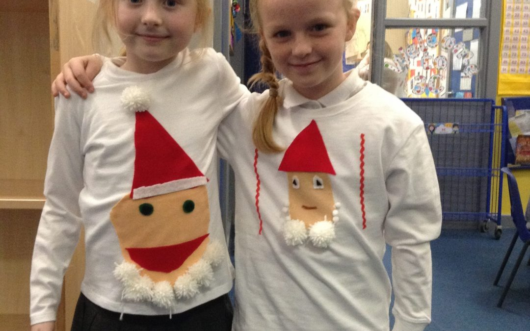 Check out our Christmas jumpers!