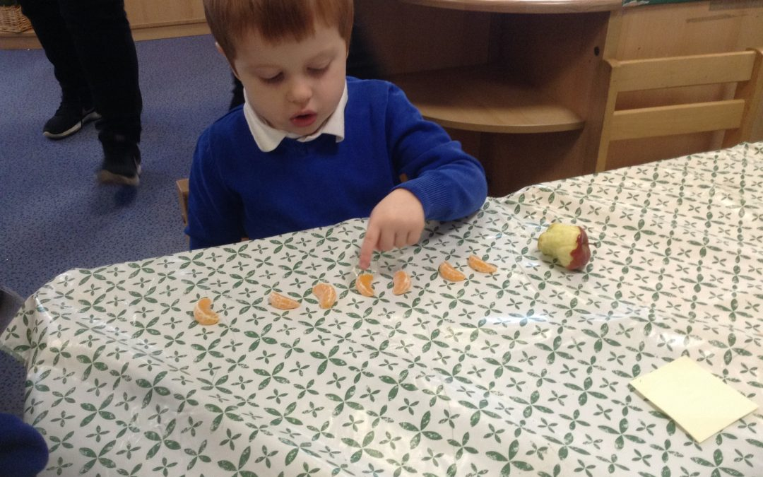Counting and sharing our snack