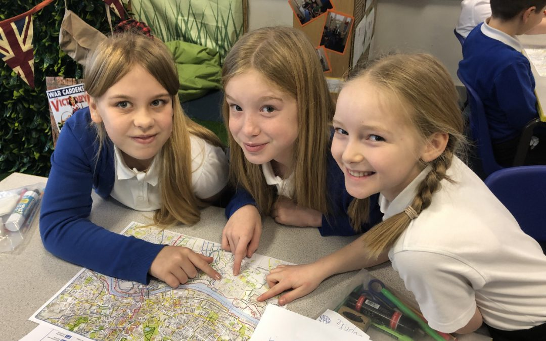 Marvellous Map Reading