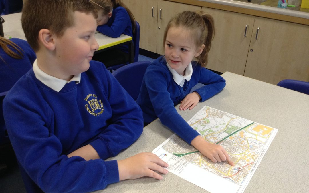 Geography in Year 3 – mapping our school