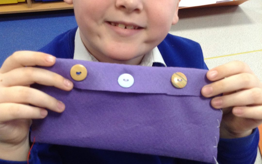 DT in Year 3 – Sewing