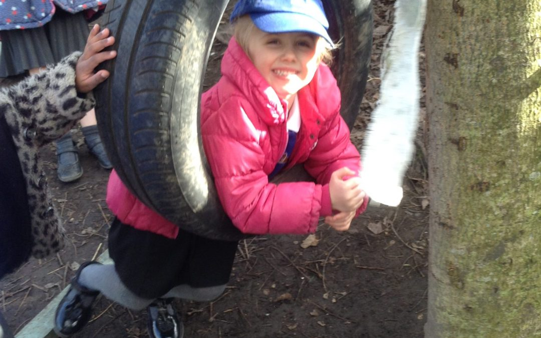 Fun at Forest School