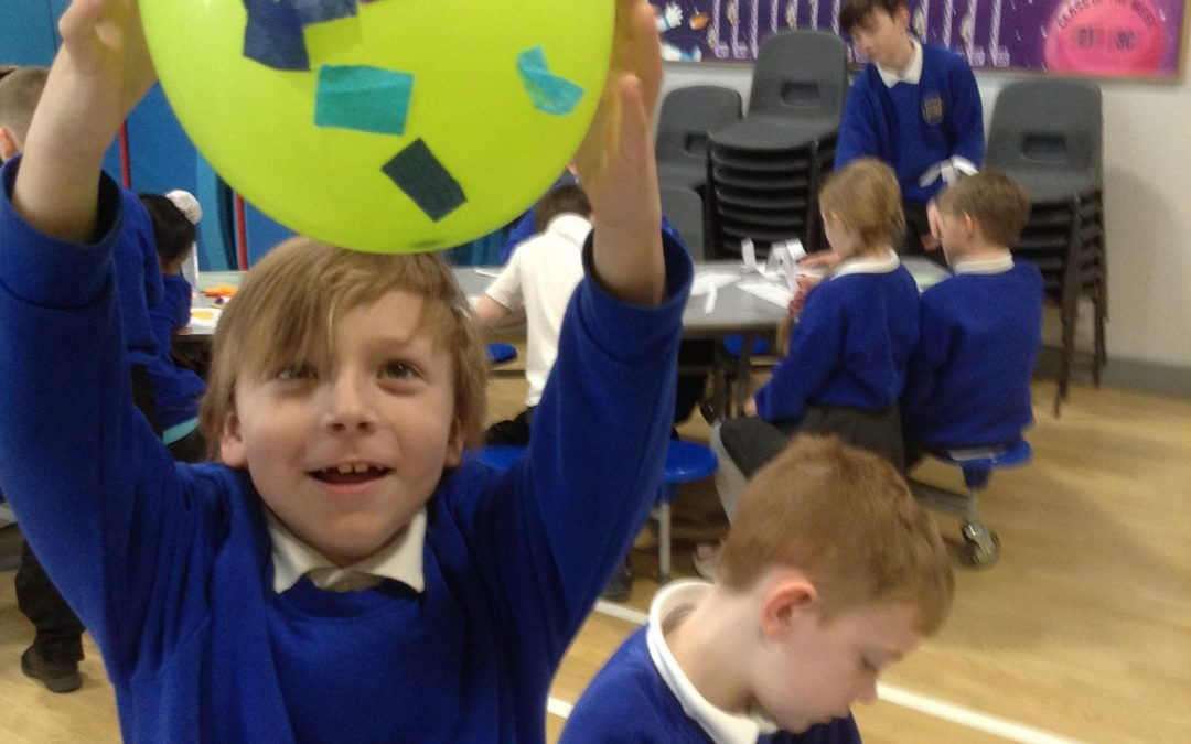 Year 2 loving the activities at the science carousel!