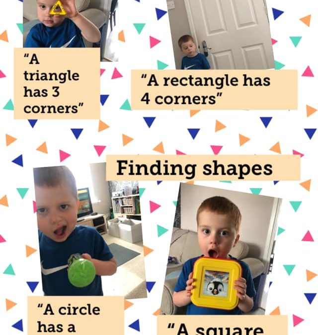 Nursery Home Learning: Maths all around!