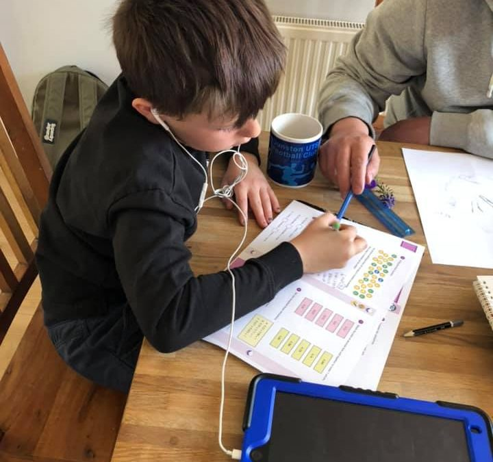 Learning maths at home!