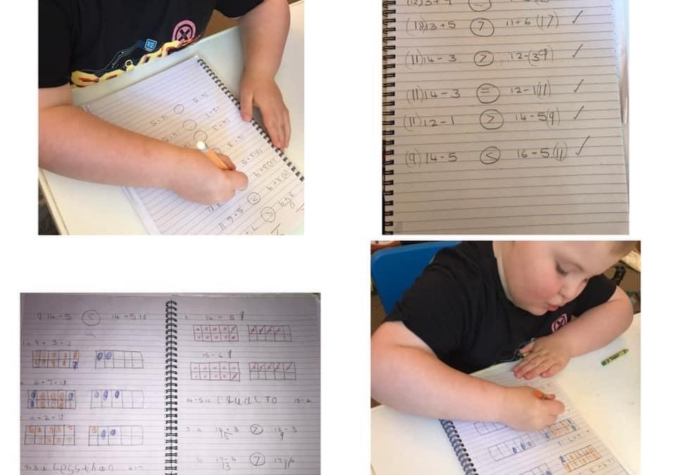 Home learning – Addition and Subtraction
