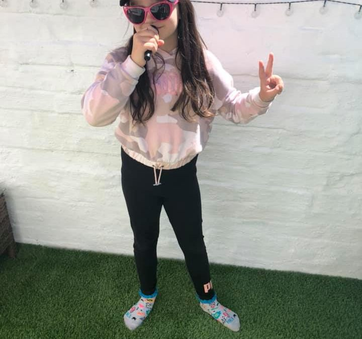 Rapping in Year 4!